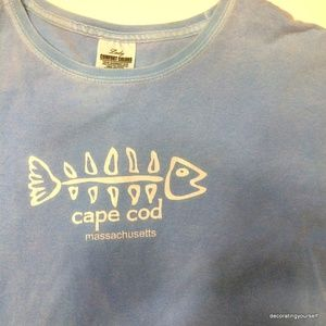 Cape Cod | Short Sleeve Tee Shirt Comfort Colors L